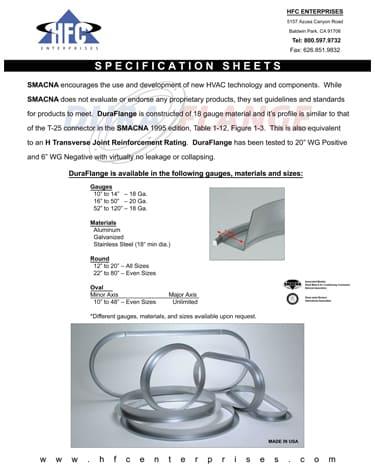HFC Spec Cover